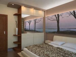 ремонт невеликої спальні картинка