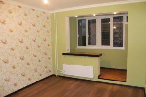 сучасний ремонт спальні з балконом фото