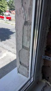ремонт откосов пластиковых окон